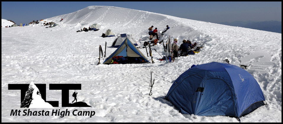 High Camp at Lake Helen
