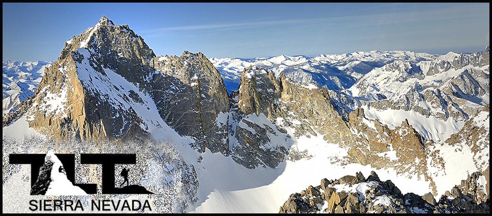 Sierra Nevada Mountains Hiking Backpacking Mountaineering