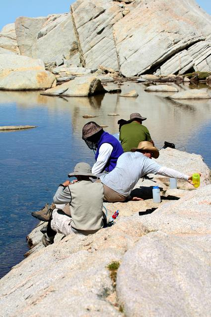 Mt Whitney Trail Camp Water Source