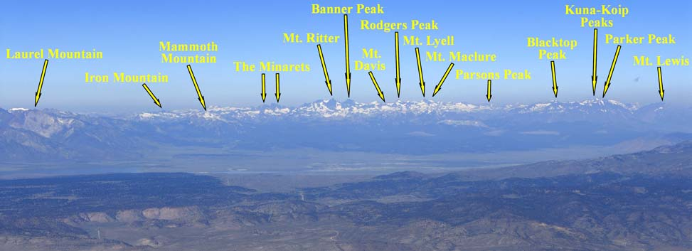 Another Por Peak Is Mt Lyell Just North Of Ritter And It The Highest In Yosemite National Park