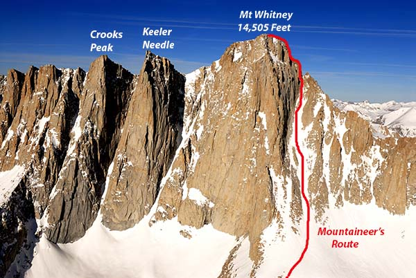 Mt Whitney North Slope