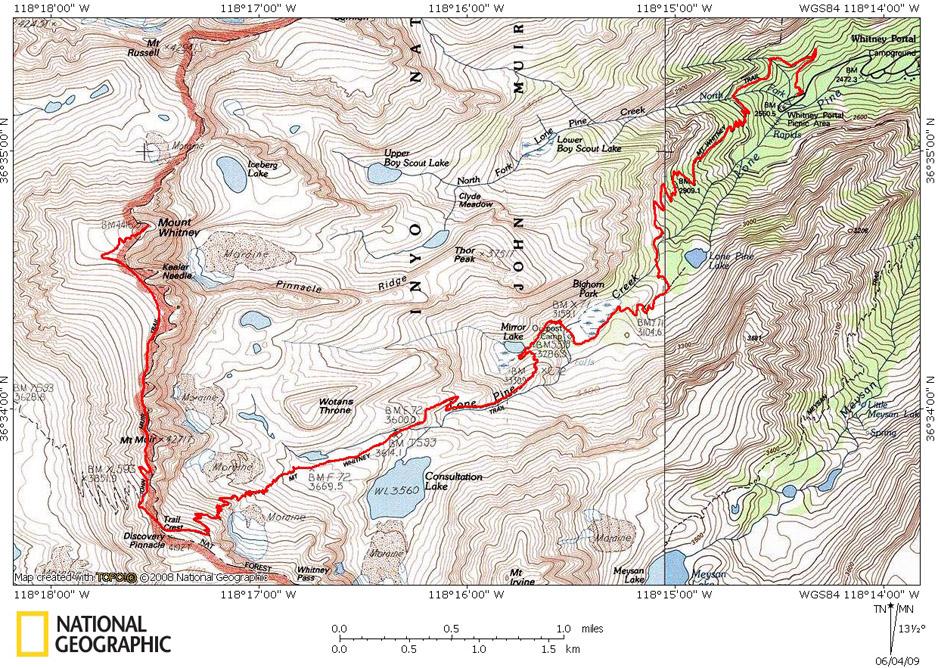 Mt Whitney Trail - Hiking and Backng - Timberline Trails on malibu hiking trails map, colorado hiking trails map, mammoth mountain bike path map, maui hiking trails map, mammoth mountain campground map, minaret lake trail map, june mountain trail map, mammoth mountain hotel map, mammoth mountain skiing map, mammoth mountain bike park map, crystal lake trail map, mammoth mountain biking, mammoth mountain bike trail map, mammoth mountain ca map, mammoth ski trail map, duck pass mammoth trail map,