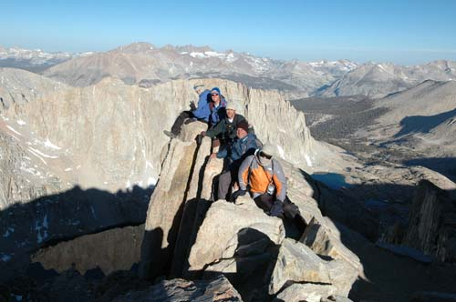 Mt Whitney Trail Crest