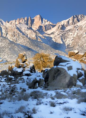 East Face Mt Whitney