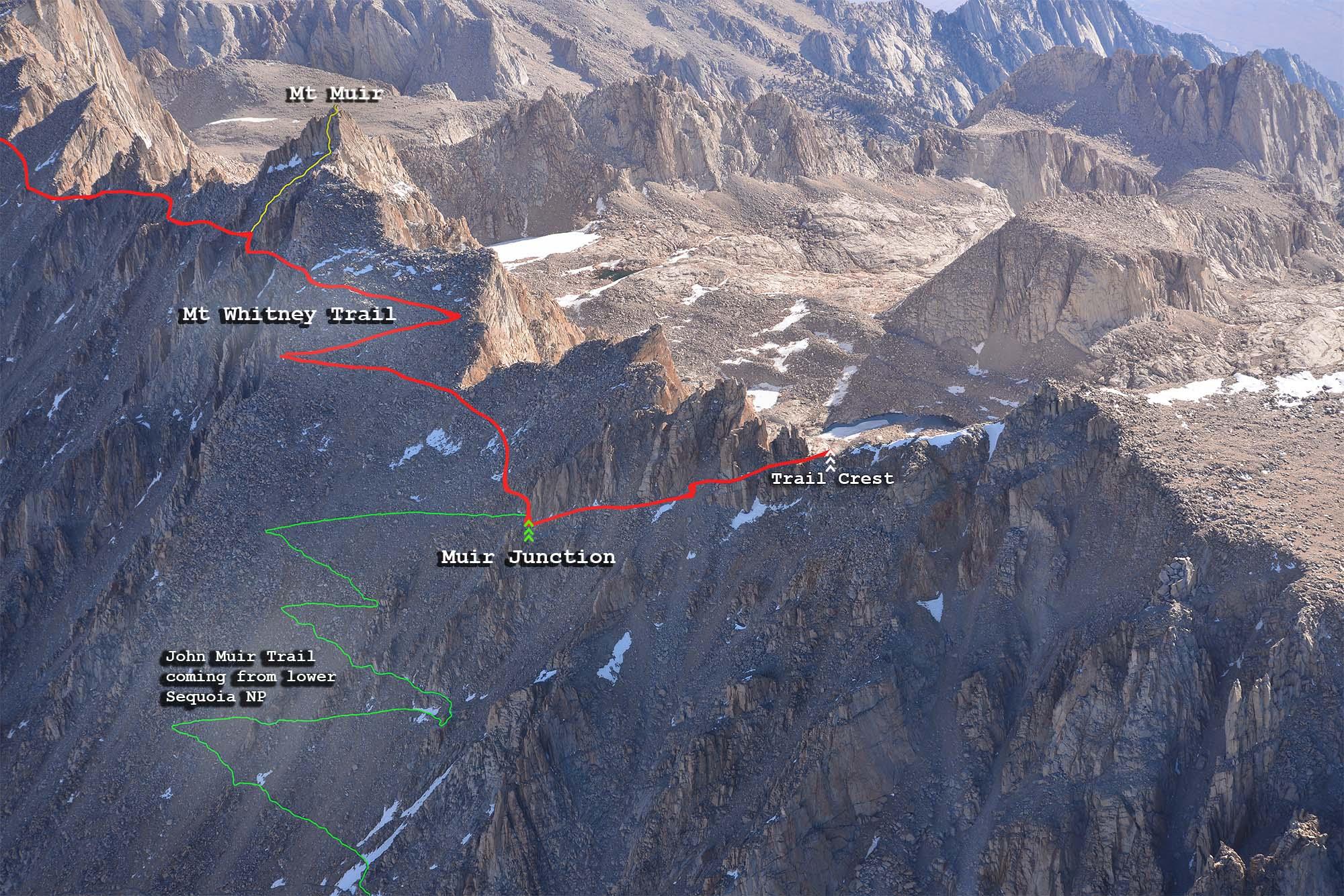 Mount Whitney Map