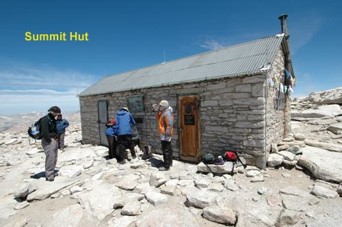 Mt Whitney Summit Hut