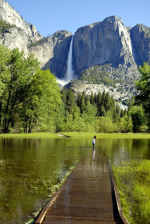 Yosemite Valley Early Spring Months