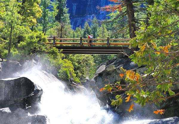 Mist Trail Bridge