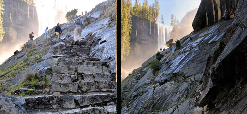 Mist Trail Stone Steps